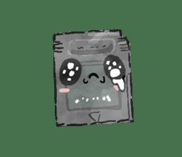 Video game cartridge- kun (Thai) sticker #4643213