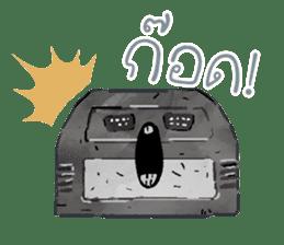 Video game cartridge- kun (Thai) sticker #4643215