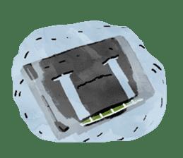 Video game cartridge- kun (Thai) sticker #4643218