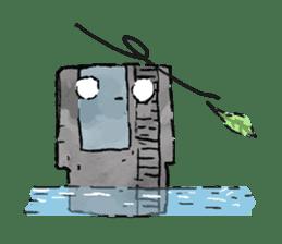 Video game cartridge- kun (Thai) sticker #4643219