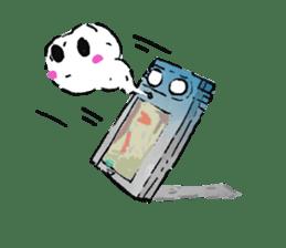 Video game cartridge- kun (Thai) sticker #4643220