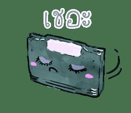 Video game cartridge- kun (Thai) sticker #4643222