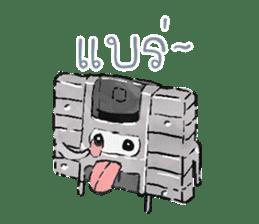 Video game cartridge- kun (Thai) sticker #4643224