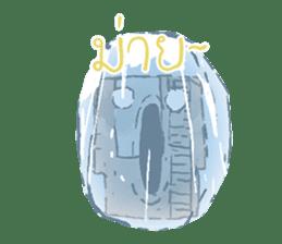 Video game cartridge- kun (Thai) sticker #4643227