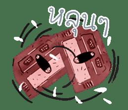 Video game cartridge- kun (Thai) sticker #4643229