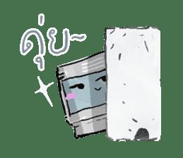 Video game cartridge- kun (Thai) sticker #4643233