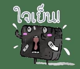 Video game cartridge- kun (Thai) sticker #4643241