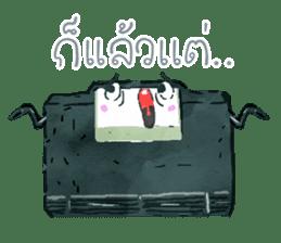 Video game cartridge- kun (Thai) sticker #4643246