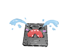 Video game cartridge- kun (Thai) sticker #4643247