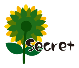 Sunflower field ( English ver. ) sticker #4644439