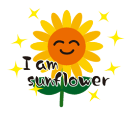 Sunflower field ( English ver. ) sticker #4644443