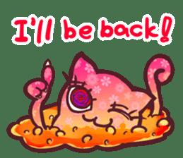 Strange Cat HEN-NYA sticker #4645370