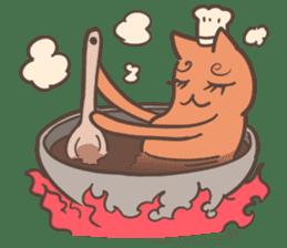 Strange Cat HEN-NYA sticker #4645382