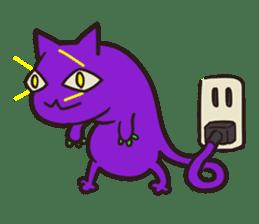Strange Cat HEN-NYA sticker #4645383
