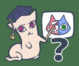 Strange Cat HEN-NYA sticker #4645393
