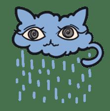 Strange Cat HEN-NYA sticker #4645397