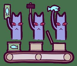 Strange Cat HEN-NYA sticker #4645401