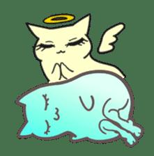 Strange Cat HEN-NYA sticker #4645404