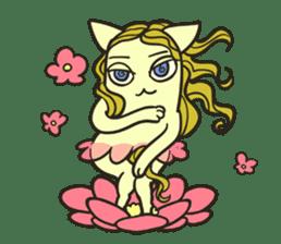 Strange Cat HEN-NYA sticker #4645406
