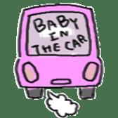 Mama,Papa,Baby. sticker #4650416