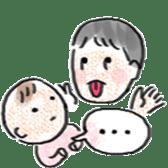 Mama,Papa,Baby. sticker #4650417
