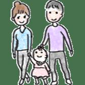 Mama,Papa,Baby. sticker #4650444
