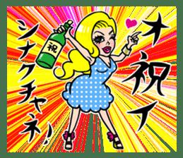 Girls apear in American movie sticker #4651210