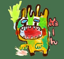 Gemogemo Sticker Tomoko Kouda GAHAKU sticker #4653410