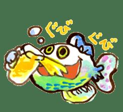 Gemogemo Sticker Tomoko Kouda GAHAKU sticker #4653414