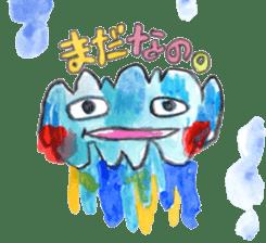 Gemogemo Sticker Tomoko Kouda GAHAKU sticker #4653417