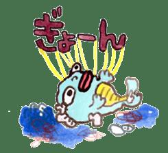 Gemogemo Sticker Tomoko Kouda GAHAKU sticker #4653423
