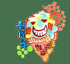 Gemogemo Sticker Tomoko Kouda GAHAKU sticker #4653425