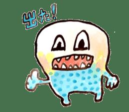 Gemogemo Sticker Tomoko Kouda GAHAKU sticker #4653427