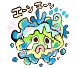 Gemogemo Sticker Tomoko Kouda GAHAKU sticker #4653428