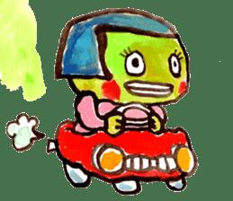 Gemogemo Sticker Tomoko Kouda GAHAKU sticker #4653430