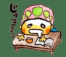 Gemogemo Sticker Tomoko Kouda GAHAKU sticker #4653434