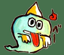 Gemogemo Sticker Tomoko Kouda GAHAKU sticker #4653436