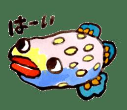 Gemogemo Sticker Tomoko Kouda GAHAKU sticker #4653438