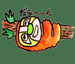 Gemogemo Sticker Tomoko Kouda GAHAKU sticker #4653439
