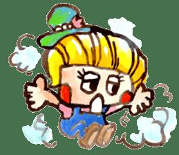 Gemogemo Sticker Tomoko Kouda GAHAKU sticker #4653445