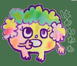 Gemogemo Sticker Tomoko Kouda GAHAKU sticker #4653447