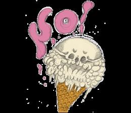 skull ice sticker #4656060