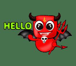 Devil fly sticker #4659208