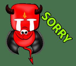 Devil fly sticker #4659214