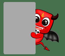 Devil fly sticker #4659219