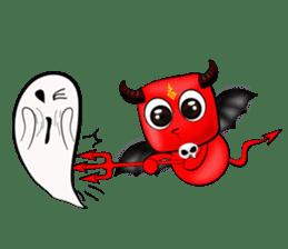 Devil fly sticker #4659220