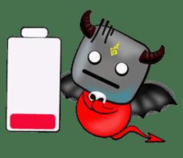 Devil fly sticker #4659238