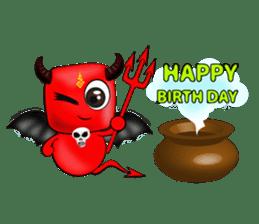 Devil fly sticker #4659240