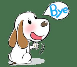 Cute Puppy 'Wini' in Roland Embley sticker #4660049