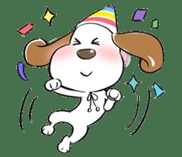 Cute Puppy 'Wini' in Roland Embley sticker #4660052